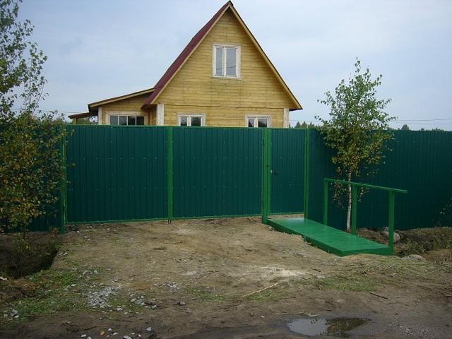 Распашные ворота профнастил мордвес ворота купить полтава
